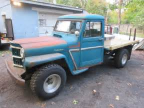 1962 willys jeep pickup 1962 willys jeep truck pick up truck 4x4 super