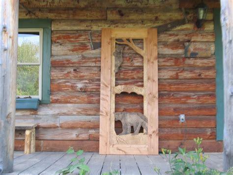 rustic screen doors  robbinscabin  lumberjockscom