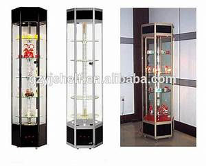 Lockable Glass Display Cabinets/living Room Showcase ...