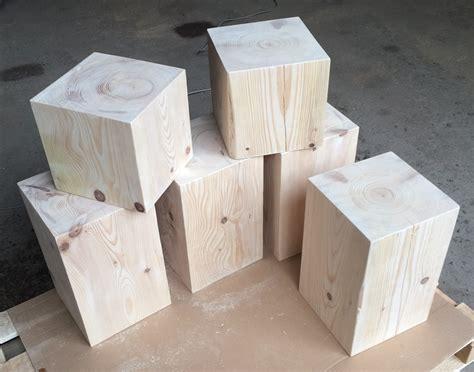 Cube En Bois Cubes En Sapin Massif Var Et Bois