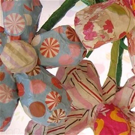 bloem maken als surprise hoe grote papiermache bloemen maken hobby blogo nl