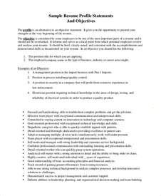 objective statements general great exles and educational summary for good objective