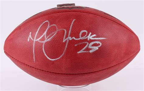 Marshall Faulk Signed Super Bowl Xxxiv Official Nfl Game
