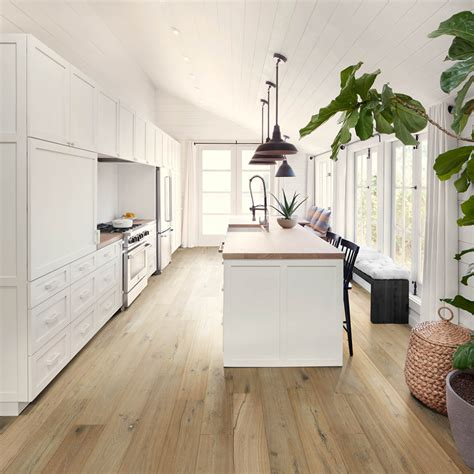 The endless flooring options available are leading to even cooler, more exciting kitchen themes than ever before. Hardwood Floors in the Kitchen? Yes! - 1 Kitchen, 6 Wood Floors