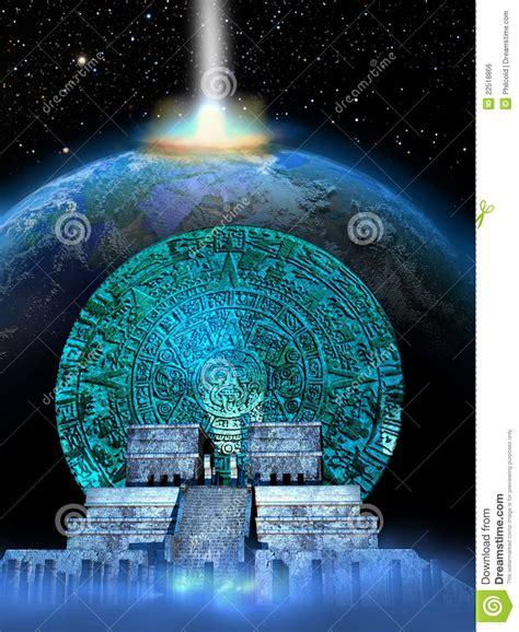 Mayan Predictions Stock Illustration Image Of 2012, Deep 22518866