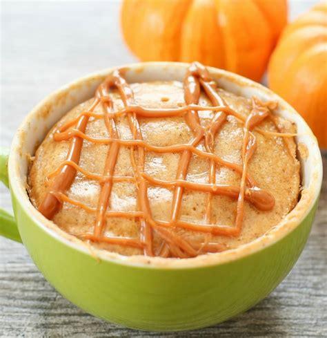 pumpkin spice mug cake kirbies cravings