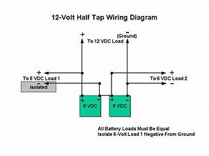 6 Best Images Of 12 Volt Battery Bank Wiring Diagram
