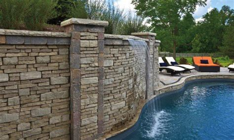 Unilock Wall Installation by 3 Retaining Wall Designs That Will Transform Your