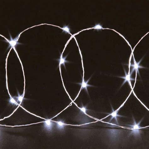 20 bulb string led lights white buy at qd stores