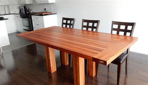 mobilier de cuisine en bois massif supérieur mobilier de cuisine en bois massif 6 table en