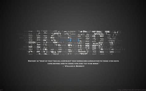 history typography wallpaper by ebturner on deviantart
