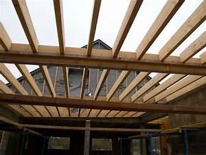 charpente bois toit plat mzaolcom With wonderful abris de jardin pas cher leroy merlin 18 carport bois forum
