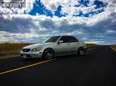 lexus is300 stance black 2002 lexus is300 varrstoen es2 stance coilovers