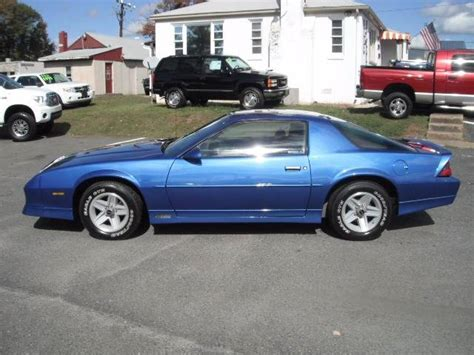 1989 Chevrolet Camaro Rs 2dr Hatchback Automatic 4speed