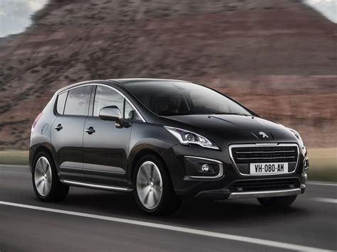 peugeot 3008 price 2016 peugeot 3008 1 6l overview price