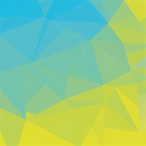 Blue Green Simple Abstract Polygonal Background Vector ...