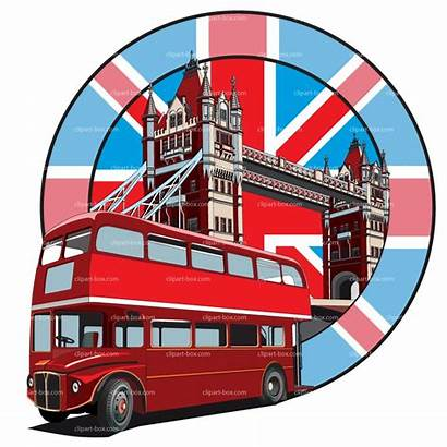 London Clipart Bus English England Cliparts Poster
