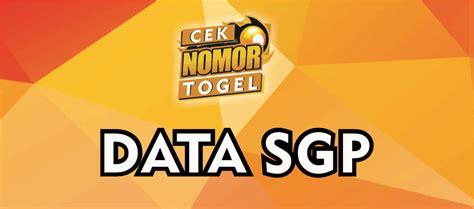 data lengkap pengeluaran sgp cek nomor togel tercepat