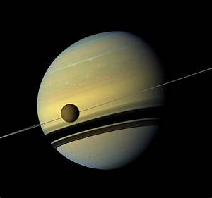 Saturn's Moons and Rings May Be Younger Than the Dinosaurs