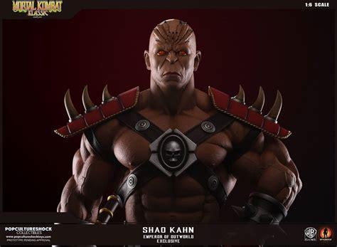 Pcs Mortal Kombat Shao Kahn Statues
