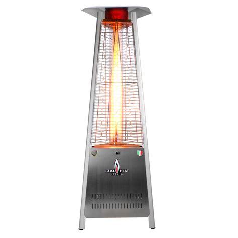 italia triangular 6 ft commercial patio heater