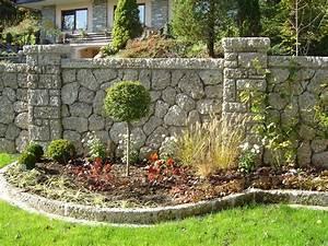 Gartenmauern Aus Stein : gartengestaltung mit naturstein gartengestaltung ~ Michelbontemps.com Haus und Dekorationen