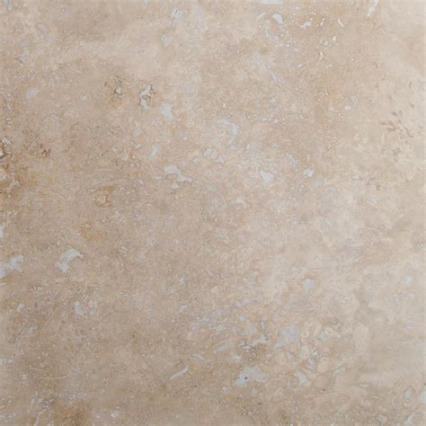 MSI Castle 18 in. x 18 in. Honed Travertine Floor and Wall