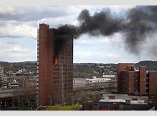 Albany Proper Fire breaks out in downtown highrise