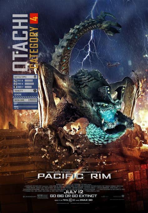 Pacific Rim Kaiju Poster Movies