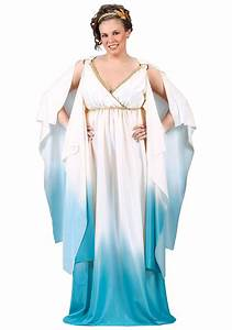 Plus Size Aphrodite Costume - Womens Plus Size Greek ...