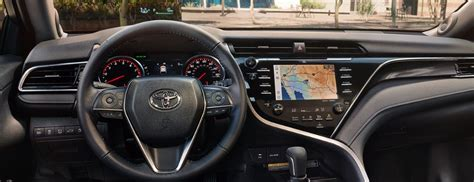 toyota camry head  display feature