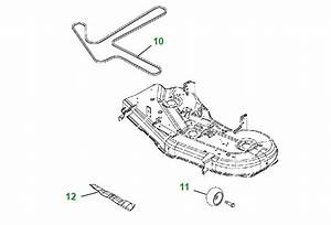 34 John Deere Z425 Drive Belt Diagram