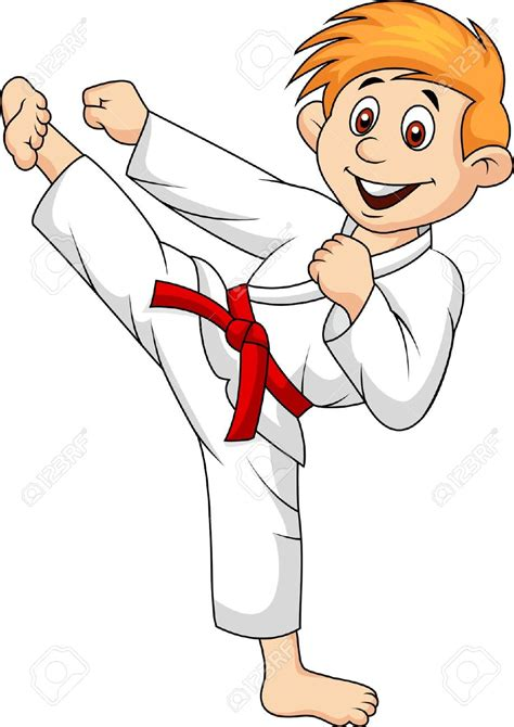 Karate Clipart Martial Arts Clipart Judo Pencil And In Color Martial