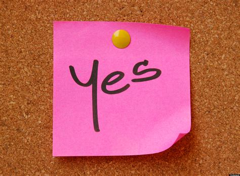 18 Things You Should Say Yes To