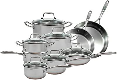 amazoncom rachael ray   piece aluminum cookware set agave blue kitchen dining