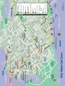 Old Town Key West Florida Map