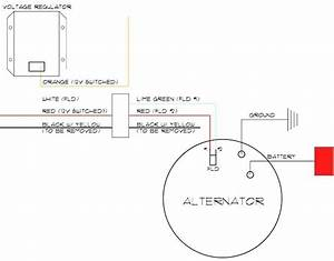 Ford Alternator Wiring Hook Up