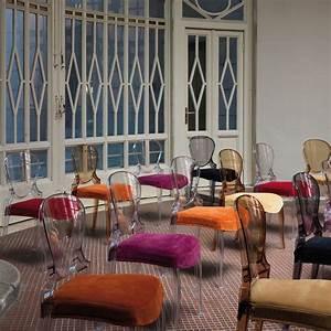Stühle Mit Stoffbezug : queen 650 stuhl pedrali aus polykarbonat stapelbar auch ~ Lateststills.com Haus und Dekorationen