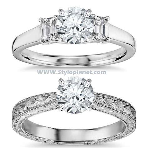 bridal beautiful engagement ring designs 2017 stylo planet