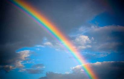 Rainbow Sky Natural Wallpapers Rainbows Rain Wall