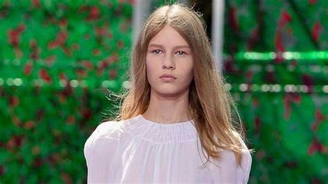 Meet The New Face Of Dior Shes 14 And Her Runway Walk
