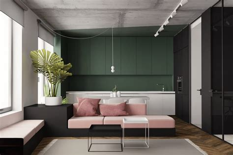 studio apartments  inspiring modern decor themes