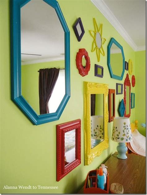 Kids' Room Mirror Gallery Wall!  Diy & Crafts Pinterest