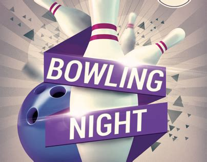 Free Bowling Flyer Template Costumepartyrun