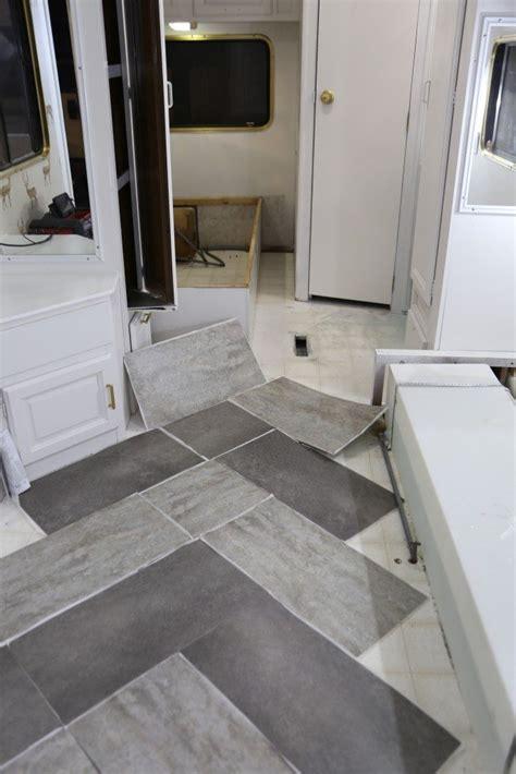 vinyl peel and stick floor tiles trailer remodel with peel and stick vinyl flooring