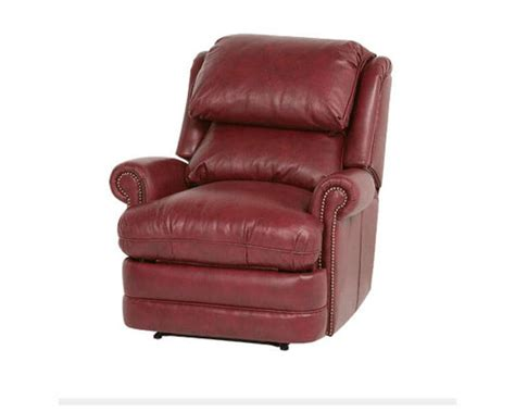 bustle back recliner classic leather chesapeake recliner