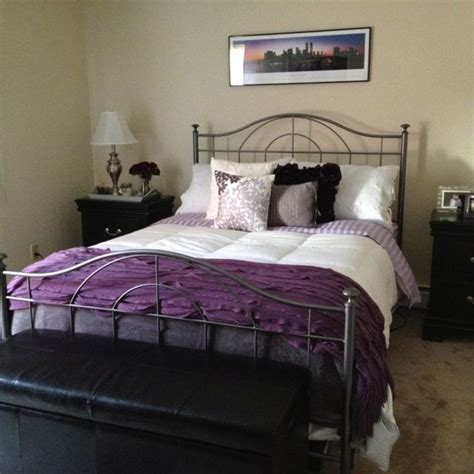Simple Purple And Grey Bedroom Ideas  Greenvirals Style