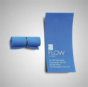 30 of the most creative business card designs for Yoga mat business cards