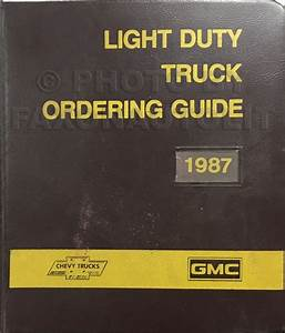 1987 Chevy  Gmc P Forward Control Wiring Diagram Motorhome