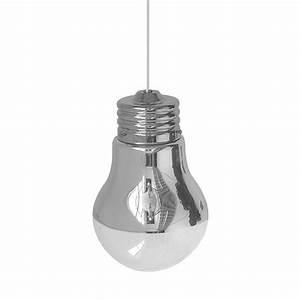 Lampe En Forme D Ampoule : lampe suspension en forme d ampoule design de maison ~ Teatrodelosmanantiales.com Idées de Décoration